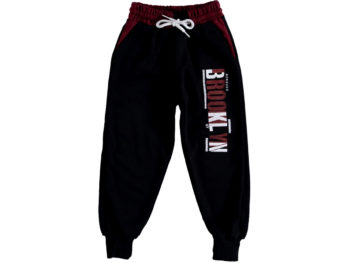 Спортивные штаны бордовые 306272